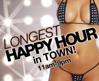Longest Happy Hour in Town!